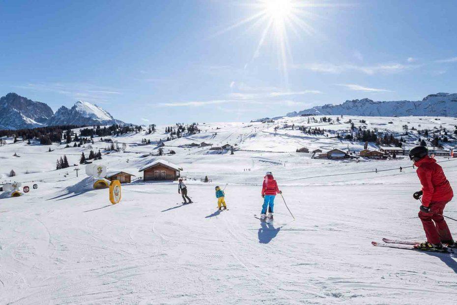Seiser-Alm-Skifahren
